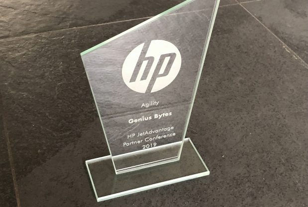 HP JetAdvantage Partner Conference 2019 - Agility Award